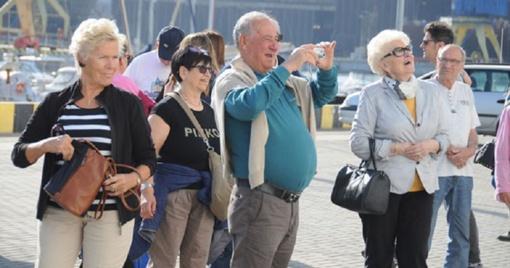 Turizmas Klaipėdoje po truputį įsibėgėja