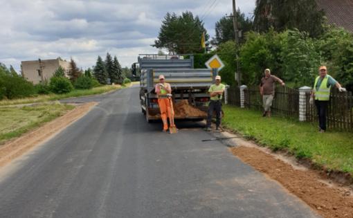 Rajone sėkmingai tvarkomi keliai