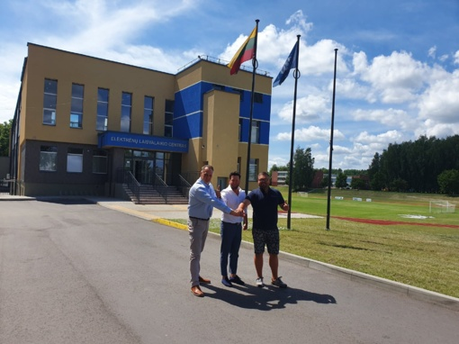 Elektrėnuose įsteigta futbolo akademija