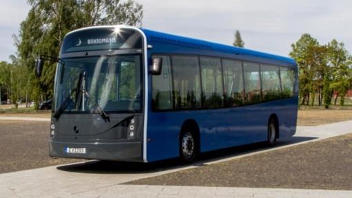 """Į Nidos tarpdisciplininį muzikos festivalį atkeliauja elektriniai autobusai """"Dancer"""""""