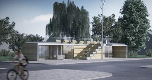 Pristatomi Juodkrantės autobusų stotelės projektiniai pasiūlymai