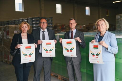 Lietuvos humanitarinė pagalba Baltarusijai – apsaugos priemonės už 50 tūkst. eurų