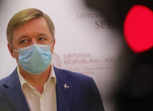 """R. Šimašius atsakė """"valstiečiams"""": Lukiškių aikštę naudoja politinėms kovoms"""