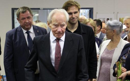 Elektrėnų įkūrėjo, ilgamečio Lietuvos elektrinės direktoriaus, Elektrėnų garbės piliečio Prano Noreikos sveikinimas