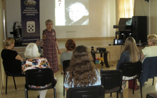 Rykantuose – seminaras apie pozityvų mąstymą