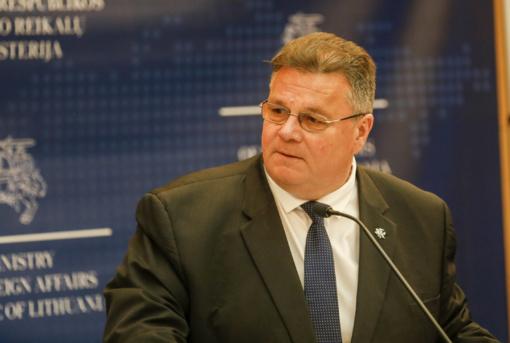 L. Linkevičius: svarbu, kad reformos Ukrainoje būtų tęsiamos