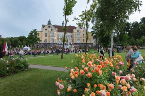 Valstybės dieną atidarytas XVII tarptautinis Chaimo Frenkelio vilos vasaros festivalis