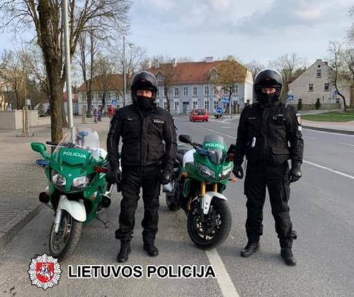 Šilutiškius vargina garsiai burzgiantys motociklai