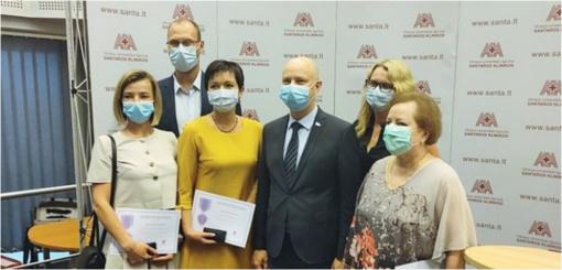 Už reikšmingą indėlį Lietuvos žmonių sveikatai apdovanoti savivaldybės ir sveikatos įstaigų darbuotojai