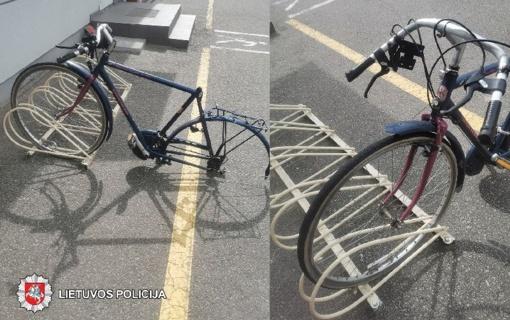 Panevėžyje gatvėje rastas dviratis
