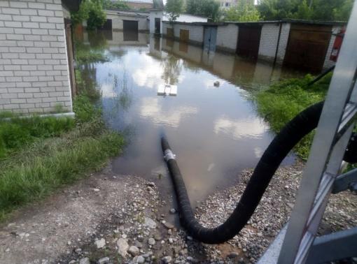Lazdijų rajone dėl katastrofinės liūties paskelbta ekstremali situacija