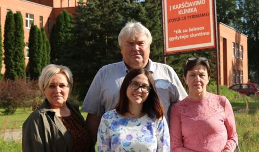 Sveikatos apsaugos ministro apdovanojimai bus įteikti keturiems Širvintų rajono medikams