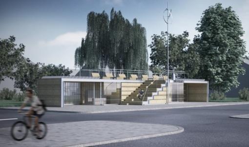 Juodkrantės autobusų stotelės įrengimo planus lydi naujas etapas