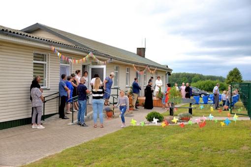 Šilalės rajone įvyko Drobūkščių bendruomeninių vaikų globos namų atidarymas