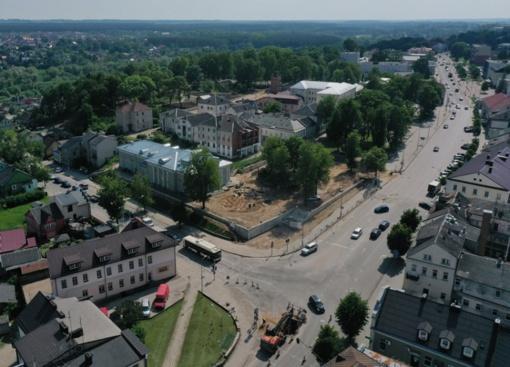 Centrinėse miesto sankryžose prasidės kapitalinio remonto darbai