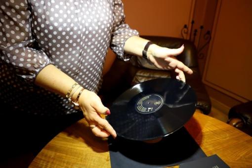 Dovana kultūrai – Juozo Naujalio muzikos vinilinė plokštelė