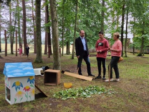 Rajono vaikų vasaros poilsiui – dar daugiau galimybių