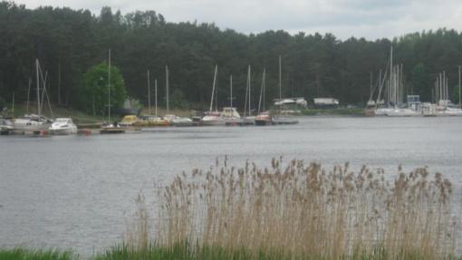 Ruošiantis tvarkyti Kauno marių įlanką, numatomos vietos laivams laikyti