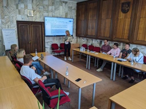 Jaunimo reikalų tarybos posėdyje pristatytos jaunimo neformalių grupių iniciatyvos