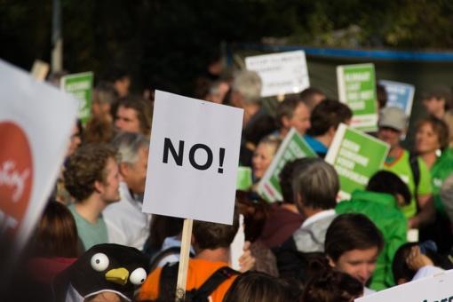 Bulgarijoje ketvirtą vakarą iš eilės vyko protestai prieš vyriausybę