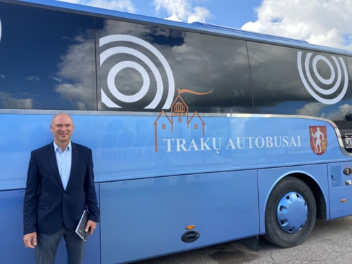 """Darbą pradeda naujas UAB """"Trakų autobusai"""" vadovas"""