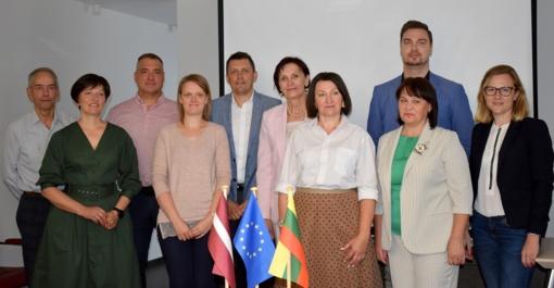 Pradedamas įgyvendinti bendras Latvijos ir Lietuvos projektas