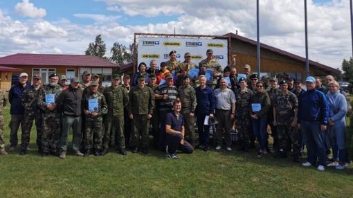 Šaudymo varžybose tarp 16-os komandų – ir Jurbarko rajono savivaldybės vadovai
