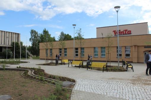 Kompleksiškas Ventos miesto bendruomeninės ir viešosios infrastruktūros atnaujinimas