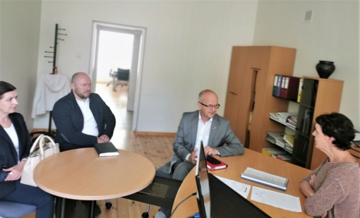 Su Nemuno kilpų regioninio parko direkcija aptarti bendradarbiavimo klausimai