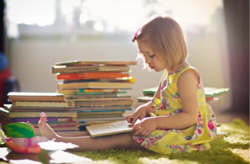 Kodėl vaikai turėtų skaityti knygas?