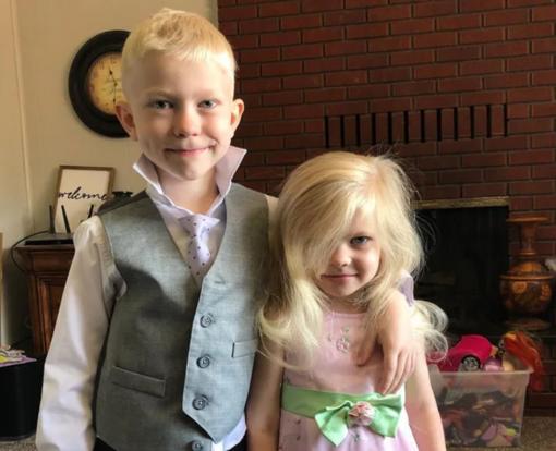 6 metų berniukas išgelbėjo mažąją seserį nuo šuns užpuolimo