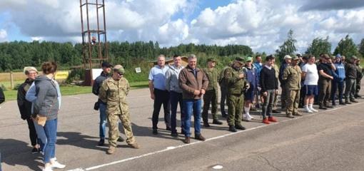 Pagėgių savivaldybės vadovai dalyvavo šaudymo varžybose
