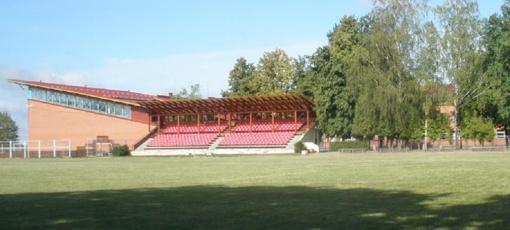 Bus atliekamas Kybartų stadiono tribūnų rekonstravimo projekto kokybės vertinimas
