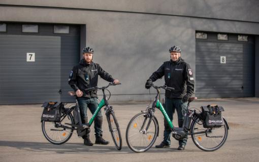 Klaipėdos apskrities policijos pareigūnai poilsiautojams primena – saugoti savo dviračius būtina