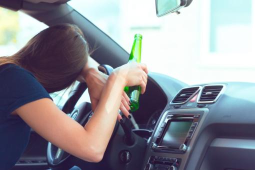 Tauragės rajone sustabdyta neblaivi vairuotoja