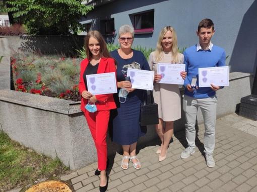 Druskininkiečiams įteikti Sveikatos apsaugos ministerijos apdovanojimai už indėlį suvaldant koronavirusą