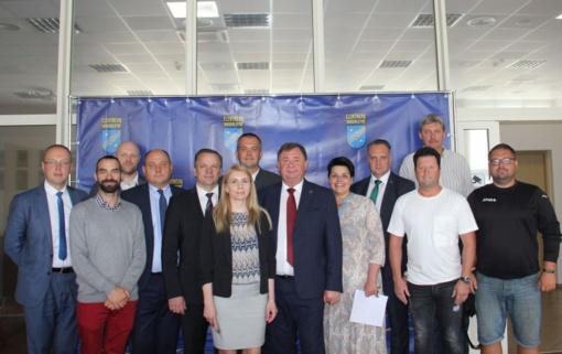 Visagino delegacija lankėsi Elektrėnų savivaldybėje