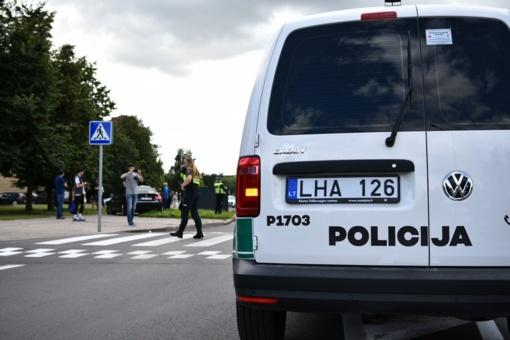 Policija prašo pagalbos: ieškomi skaudžios nelaimės Kniaudiškių gatvėje liudininkai