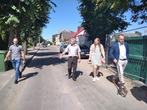 Rengiasi pradėti Trakų gatvės rekonstrukciją Vievyje