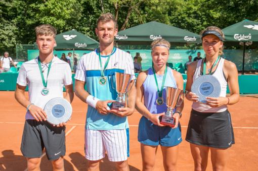 Lietuvos teniso čempionate – dramatiški finalai