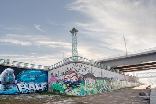 Kauno dovanos gatvės menininkams: naujos legalaus piešimo sienos ir grafiti festivalis