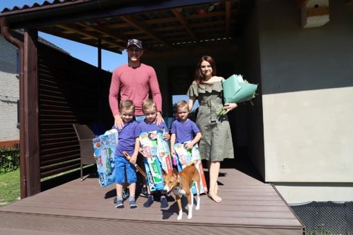 Karmėlavos trynukai švenčia penktąjį gimtadienį