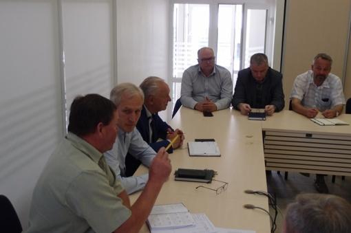 Surengtas pasitarimas dėl Respublikos gatvės rekonstrukcijos vykdymo