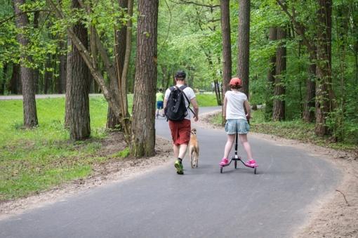 Vilniaus Vingio parke ratus suks Vilniaus 100 km bėgimo dalyviai