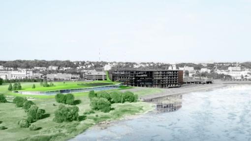 Kauno savivaldybė pasirašė 25,8 mln. eurų vertės vandens sporto centro rangos sutartį