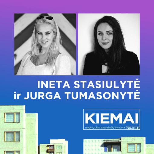 Apie moteris ir kitas stebuklingas būtybes diskutuos Ineta Stasiulytė ir Jurga Tumasonytė