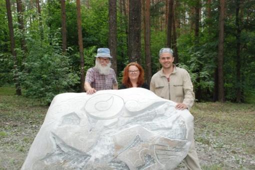Akmenė – Lietuvos mažoji kultūros sostinė. Akmengraužių darbas pragyvens šimtus žmonijos kartų
