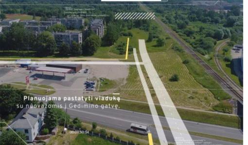 Tauragėje bus tiesiamas 2,8 km ilgio mažasis aplinkkelis