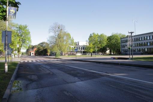 Pradedami Jaunimo gatvės, Birštone, rekonstravimo darbai