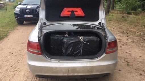 A. Barausko užkardos pasieniečiai sulaikė cigaretes gabenusį kolegą